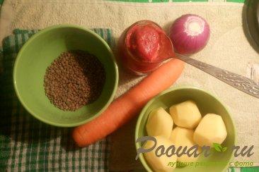 Постный суп из чечевицы Шаг 1 (картинка)