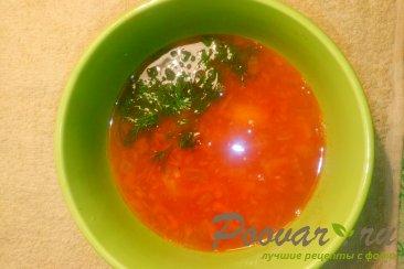 Постный суп из чечевицы Изображение