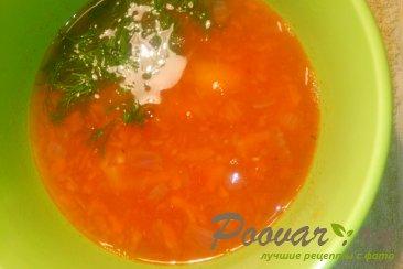 Постный суп из чечевицы Шаг 10 (картинка)
