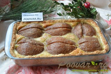 Открытый пирог с грушей Шаг 13 (картинка)