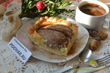 Открытый пирог с грушей Шаг 14 (картинка)