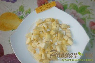 Гречка с яблоками и орехами Шаг 4 (картинка)