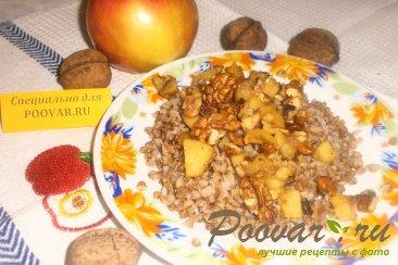 Гречка с яблоками и орехами Шаг 10 (картинка)
