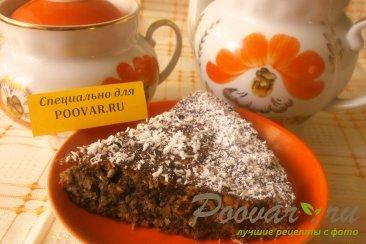 Овсяно - маковый пирог Изображение