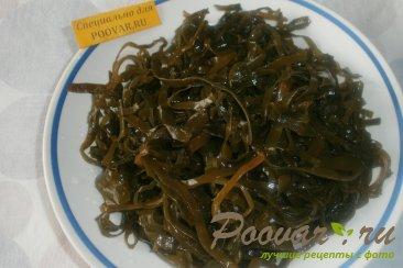 Салат из морской капусты и брюшек сёмги Шаг 1 (картинка)