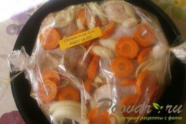 Куриные бёдрышки с овощами в рукаве Шаг 5 (картинка)