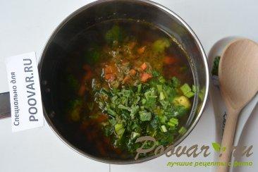 Постный чечевичный суп с овощами Шаг 11 (картинка)