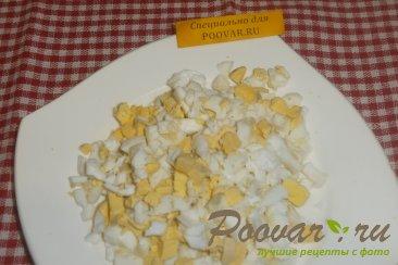 Салат из крабовых палочек и огурца Шаг 3 (картинка)