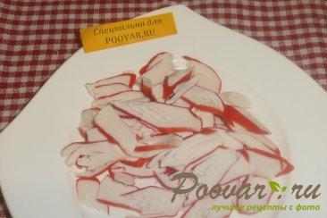 Салат из крабовых палочек и огурца Шаг 1 (картинка)