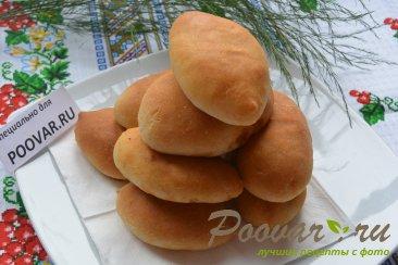 Постные пирожки с капустой из дрожжевого теста Шаг 15 (картинка)