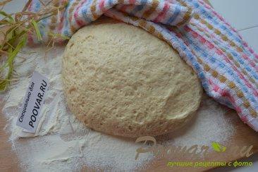 Постные пирожки с грибами и капустой в духовке Шаг 1 (картинка)