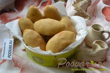 Постные пирожки с грибами и капустой в духовке Шаг 13 (картинка)
