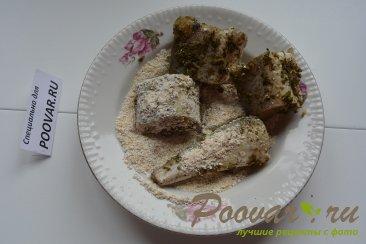 Минтай с грибами Шаг 3 (картинка)