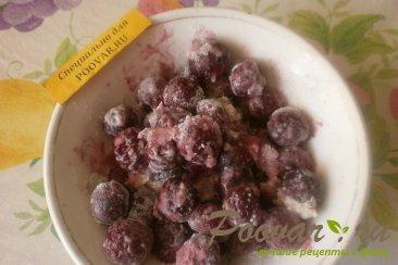 Постный пирог с ягодами и цукатами Шаг 1 (картинка)