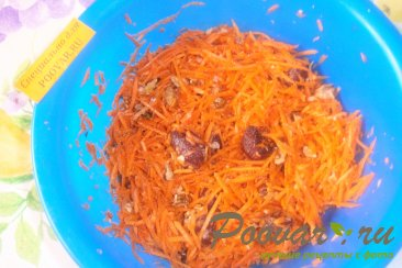 Салат из моркови с орехами и вареньем Шаг 5 (картинка)