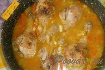 Куриные голени на сковороде Шаг 10 (картинка)
