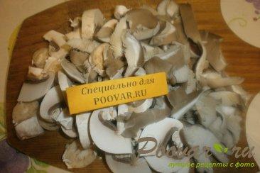 Булочка с грибами Шаг 3 (картинка)