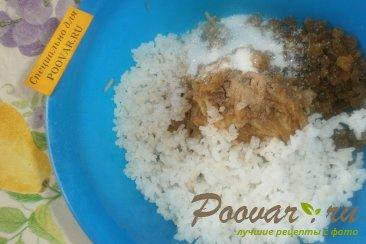 Свекла фаршированная рисом, изюмом и яблоками Шаг 2 (картинка)