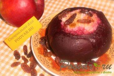 Свекла фаршированная рисом, изюмом и яблоками Изображение