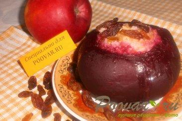 Свекла фаршированная рисом, изюмом и яблоками Шаг 6 (картинка)