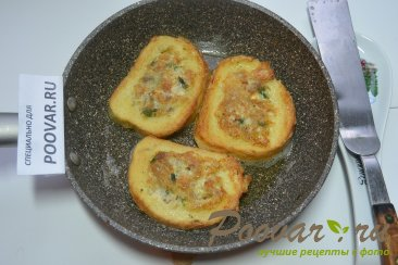 Горячие бутерброды с курицей и сыром Шаг 11 (картинка)