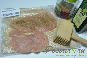 Хлебная коса с начинкой Шаг 2 (картинка)