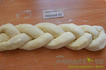 Хлебная коса с начинкой Шаг 15 (картинка)