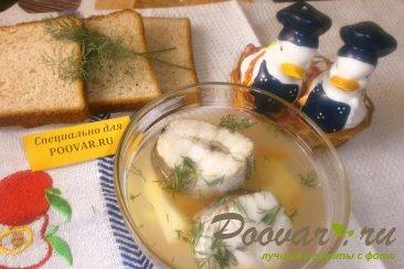 Рыбный суп из хека с рисом Изображение