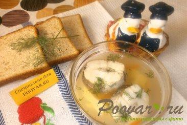 Рыбный суп из хека с рисом Шаг 8 (картинка)