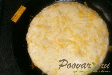 Пирог из вафельных коржей с капустой Шаг 12 (картинка)