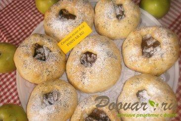 Постные шаньги с яблоками и цукатами Шаг 12 (картинка)