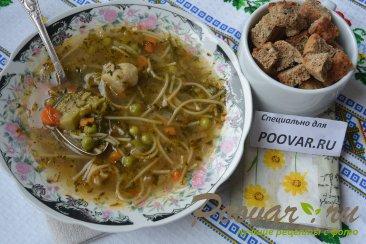 Постный суп из замороженных овощей Шаг 11 (картинка)