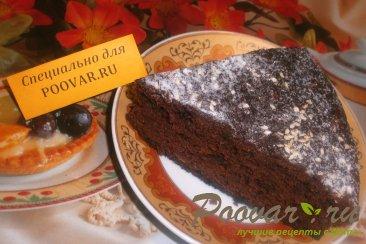 Постный шоколадно-банановый пирог Изображение