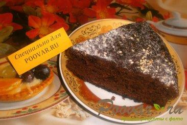 Постный шоколадно-банановый пирог Шаг 11 (картинка)