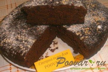 Постный шоколадно-банановый пирог Шаг 10 (картинка)