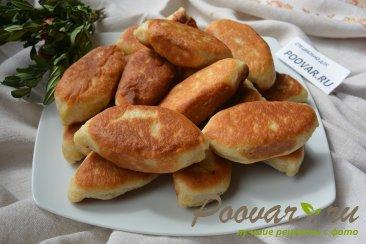 Пирожки жаренные с картошкой и грибами Изображение