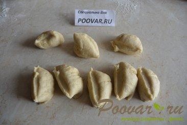 Пирожки жаренные с картошкой и грибами Шаг 6 (картинка)