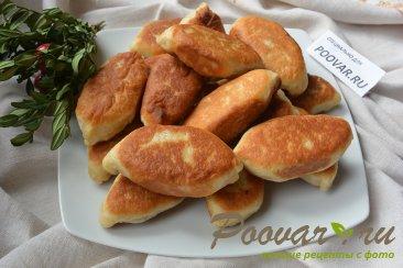 Пирожки жаренные с картошкой и грибами Шаг 11 (картинка)
