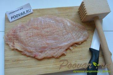 Куриная грудка под сыром в сковороде Шаг 1 (картинка)