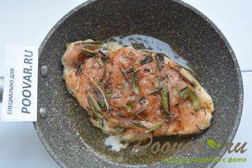 Куриная грудка под сыром в сковороде Шаг 4 (картинка)