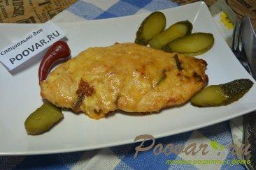Куриная грудка под сыром в сковороде Шаг 10 (картинка)
