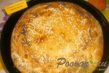 Постный пирог с яблоками и вареньем Шаг 6 (картинка)