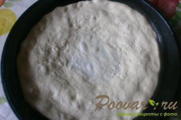 Постный пирог с яблоками и вареньем Шаг 3 (картинка)