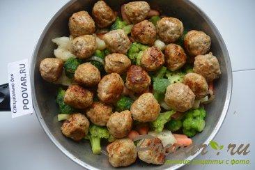 Фрикадельки с замороженными овощами Шаг 10 (картинка)