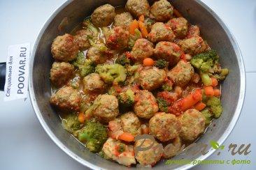 Фрикадельки с замороженными овощами Шаг 12 (картинка)