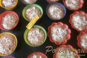 Кексы кофейно - шоколадные Шаг 11 (картинка)