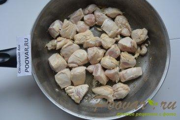 Картофель тушенный с курицей Шаг 3 (картинка)