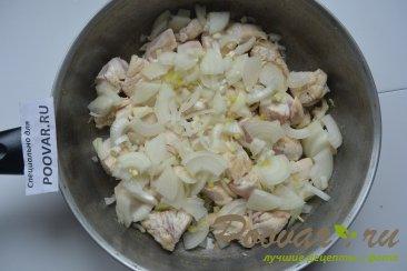 Картофель тушенный с курицей Шаг 4 (картинка)