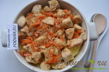 Картофель тушенный с курицей Шаг 9 (картинка)