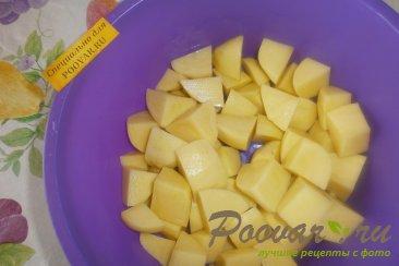 Постные жареные пирожки с луком и картофелем Шаг 3 (картинка)